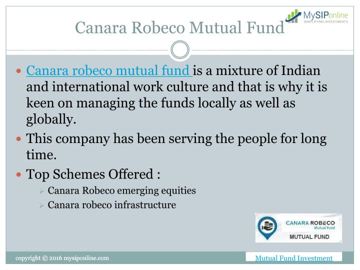 canara robeco mutual funds best investment :: causonqiubeenc cf
