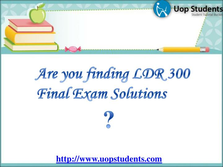 Are you finding LDR 300