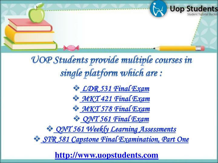 UOP Students provide multiple courses in single platform which are :