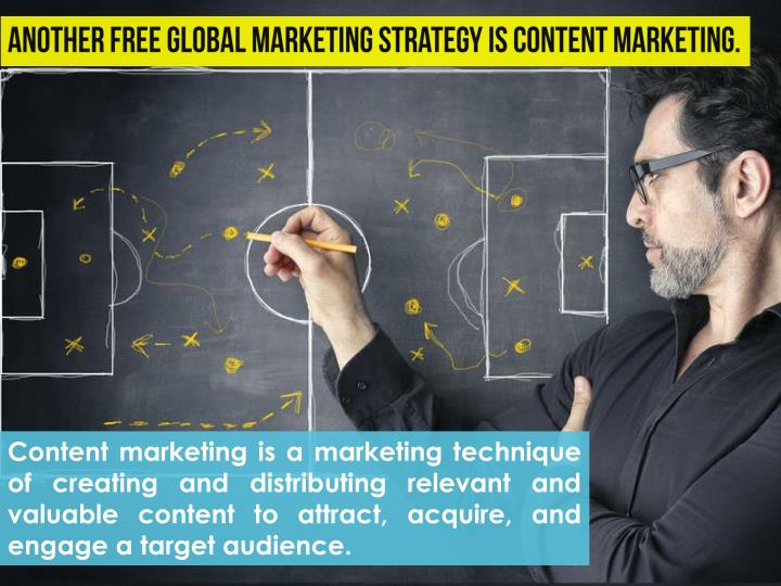 Content marketing is a marketing technique