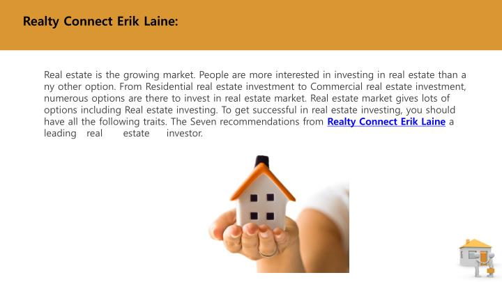 Realty Connect Erik Laine: