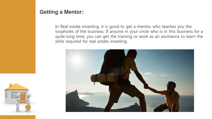 Getting a Mentor: