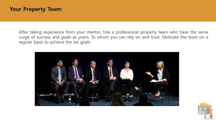 Your Property Team: