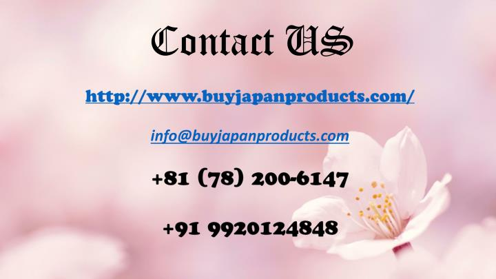 Ppt Pure And Organic Skin Cosmetics For Supple And Moist