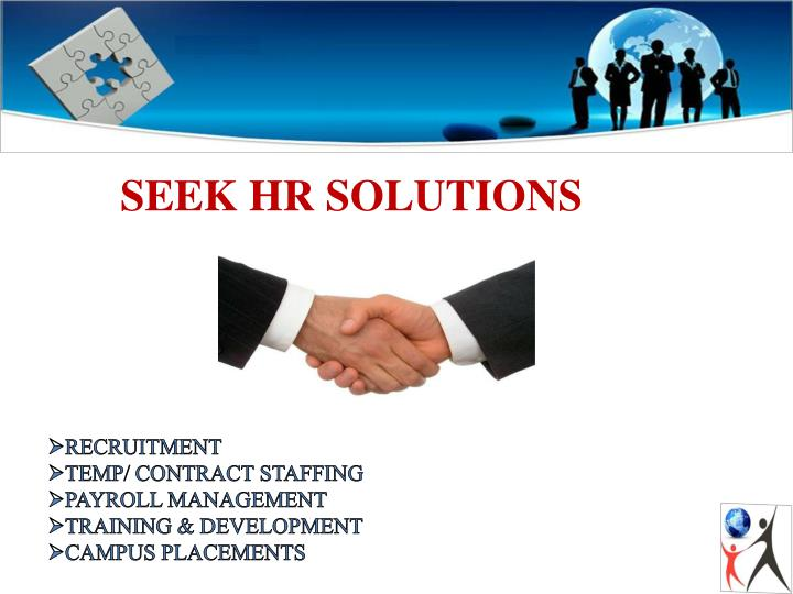 SEEK HR SOLUTIONS