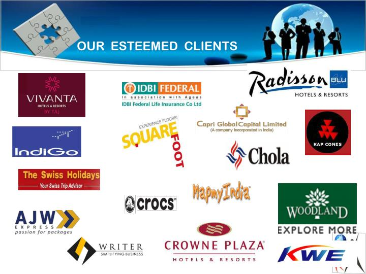 OUR  ESTEEMED  CLIENTS