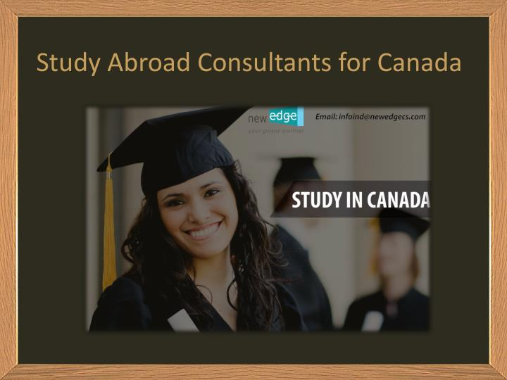 Study Abroad Consultants for Canada