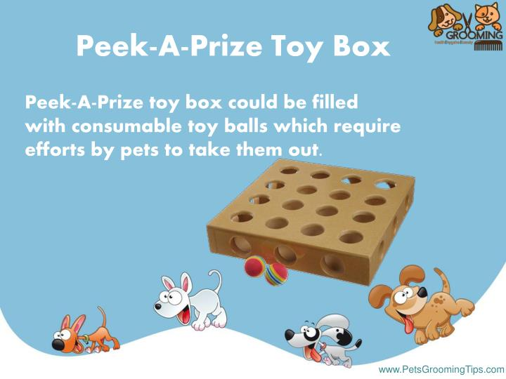 Peek A Prize Toy Box : Ppt toys for dogs powerpoint presentation id