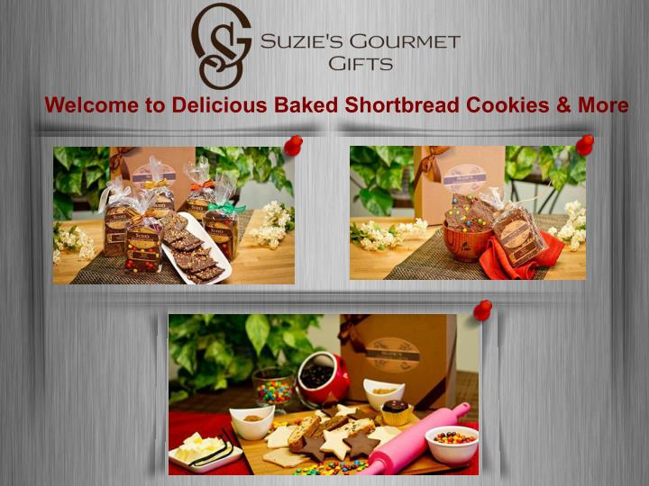 Welcome to Delicious Baked Shortbread Cookies & More