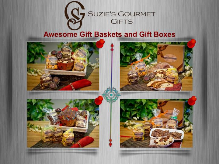 Awesome Gift Baskets and Gift Boxes