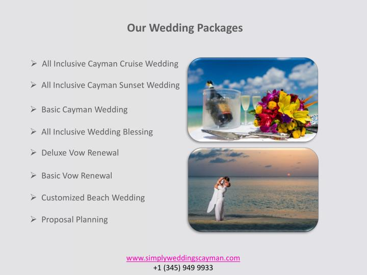 All Inclusive Cayman Cruise Wedding