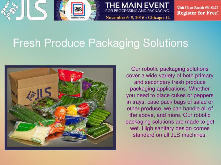 Fresh Produce Packaging Solutions