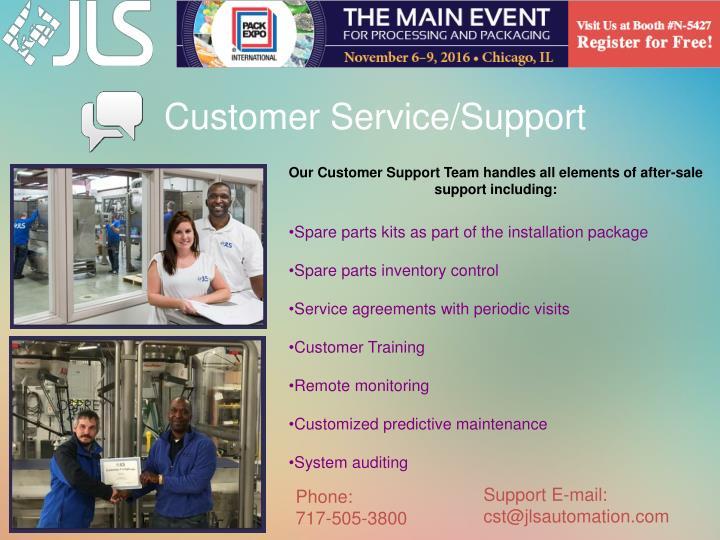 Customer Service/Support