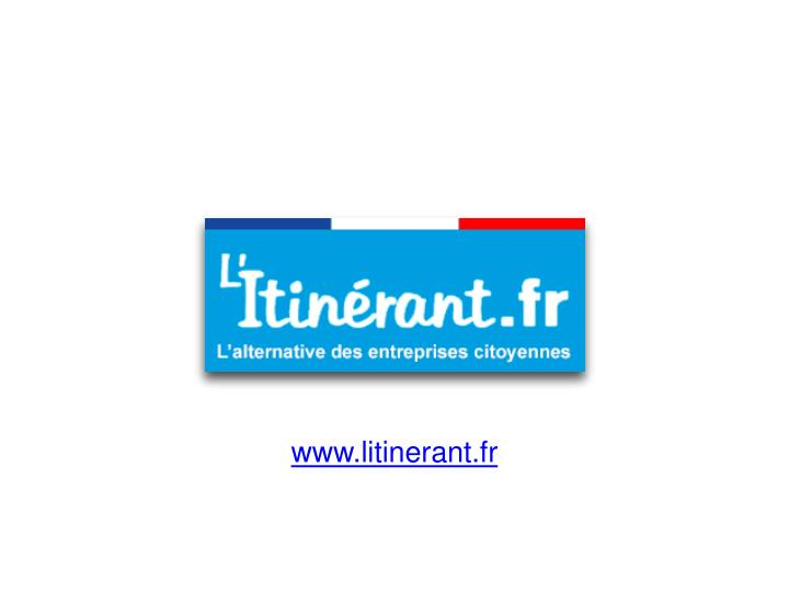 www.litinerant.fr