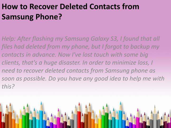 how to download contacts from samsung