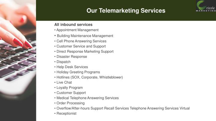 Our Telemarketing Services