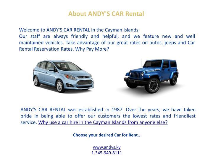 Save More Car Rental Cayman