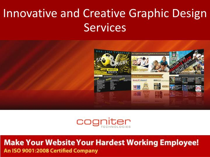 ppt innovative and creative graphic design services