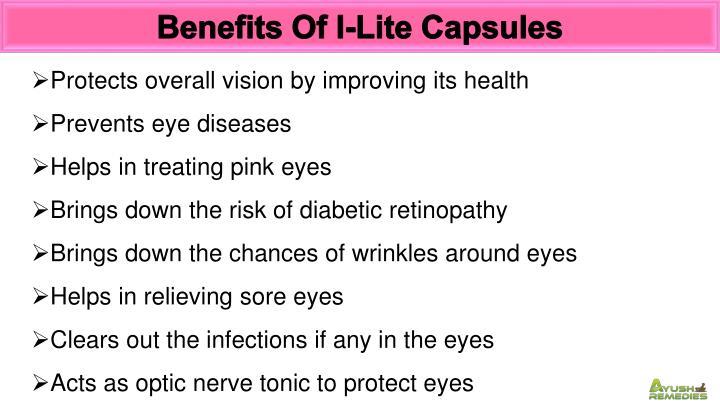 Benefits Of I-Lite