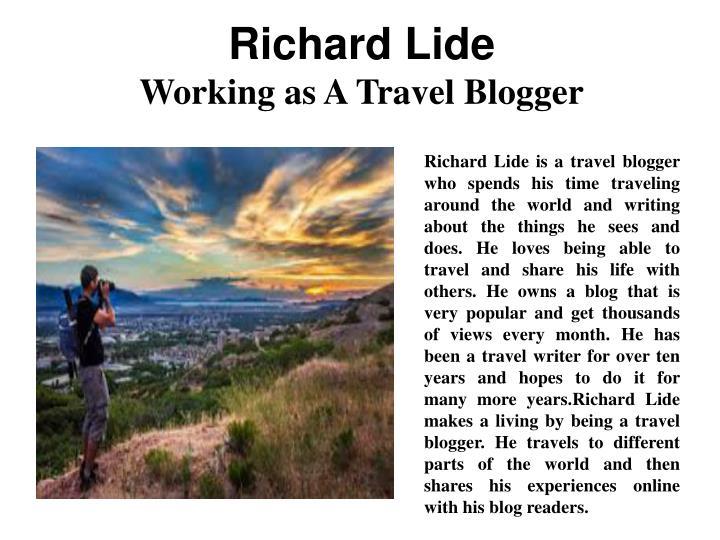 Richard Lide