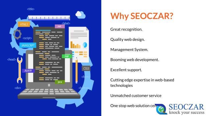 Why SEOCZAR?