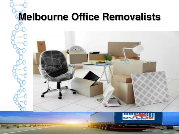 Melbourne Office Removalists