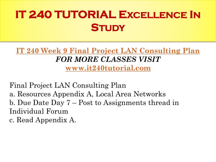 lan consulting plan powerpoint presentation Please always remember that our business plan templates can only give you a rough guidance of what you need to do writing a business plan takes a lot of research, market knowledge, time and effort by using one of our business plan templates we help you with the general structure of a business plan.