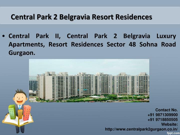 Central Park 2 Belgravia Resort Residences