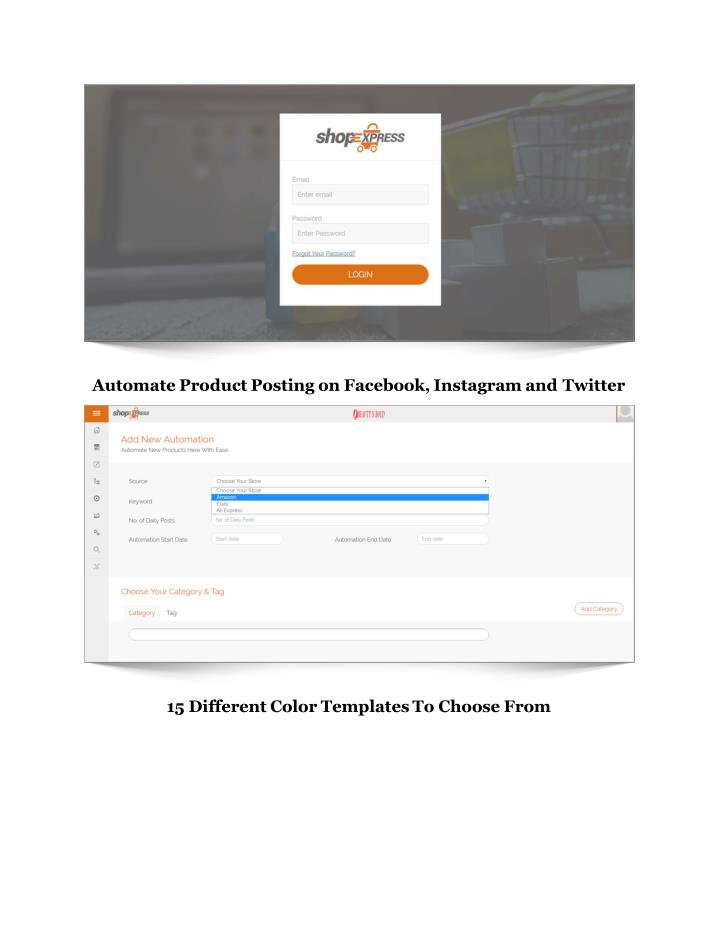 Automate Product Posting