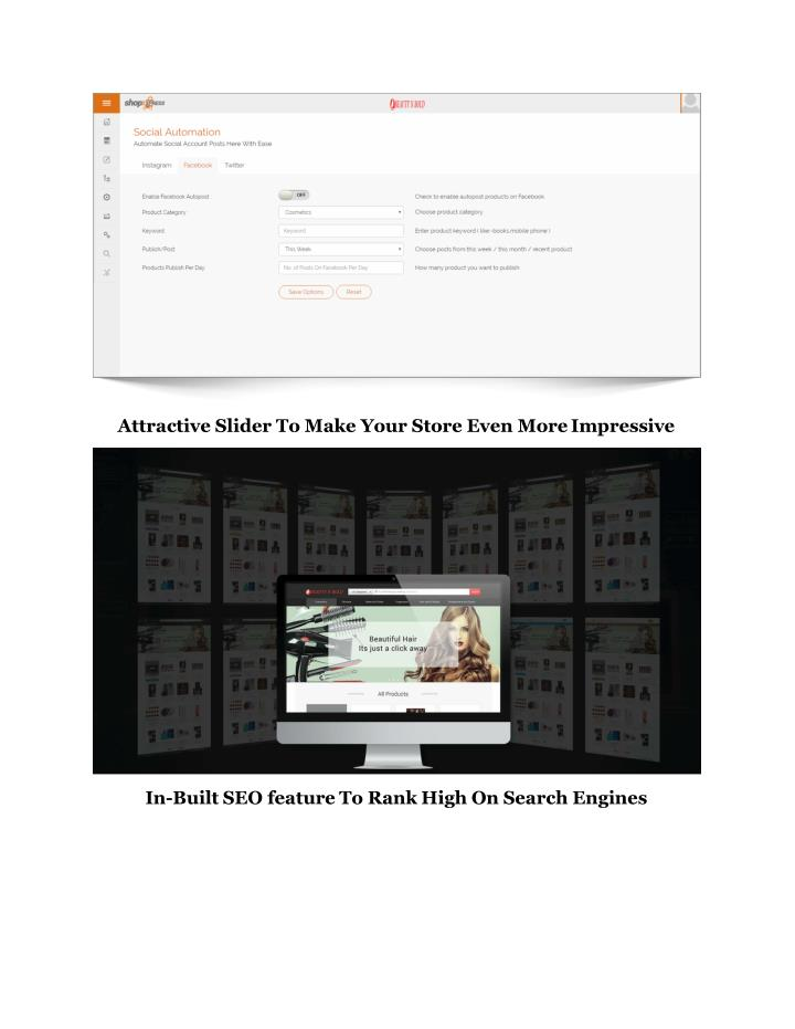 Attractive Slider To Make Your Store Even