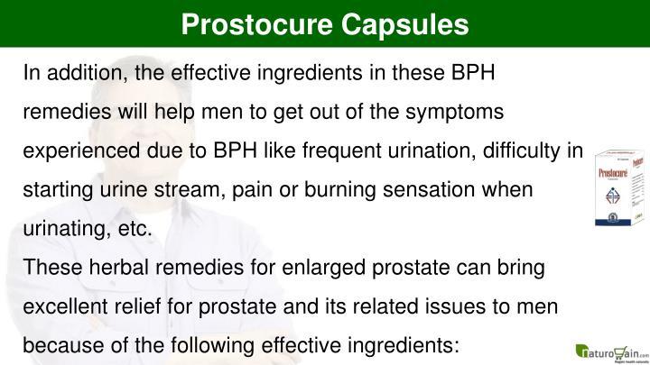 Prostocure