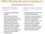 mha 626 help become exceptional mha626mentor com7