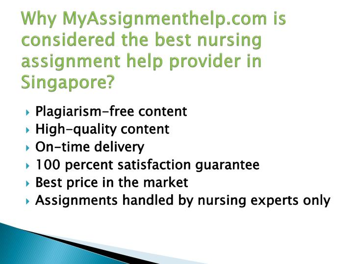 Nursing Student Assignment Help From Medical Professionals