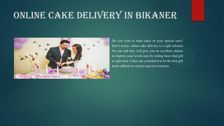 online cake delivery in bikaner
