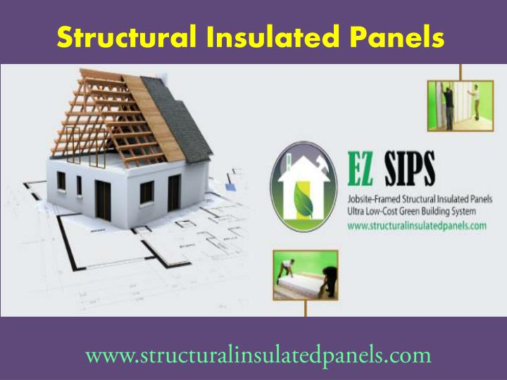 Ppt Structural Insulated Panels Powerpoint Presentation