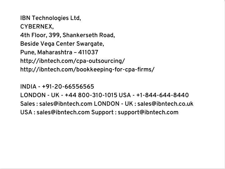 IBN Technologies Ltd,