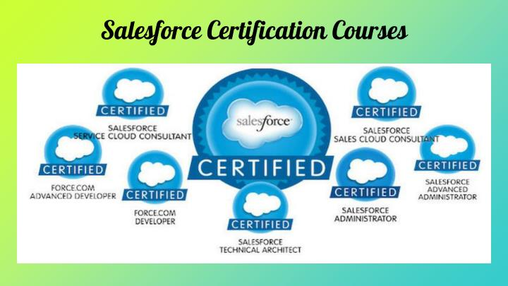 Salesforce Certification Courses