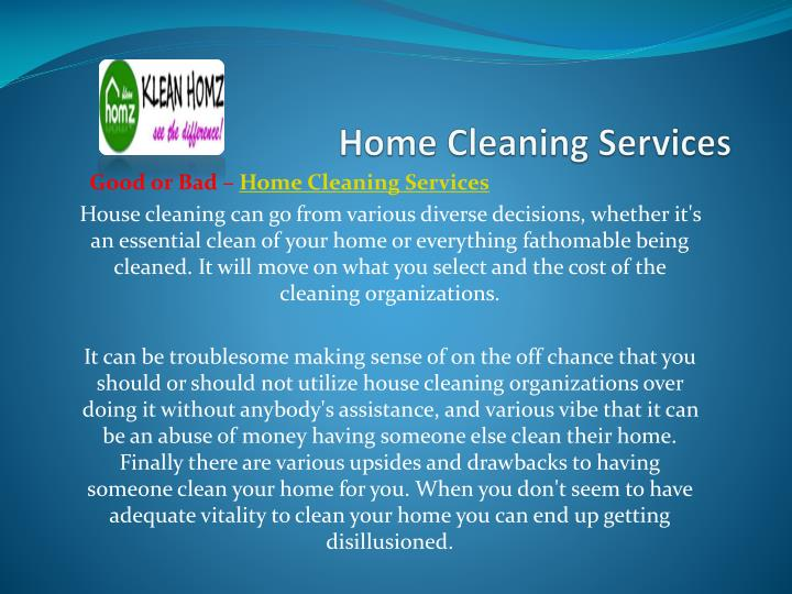 Home cleaning services1