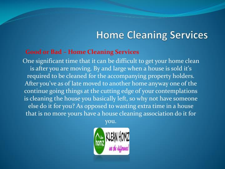 Home cleaning services2