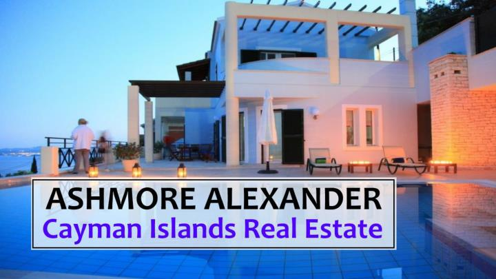 Cayman islands real estate ashmore alexander