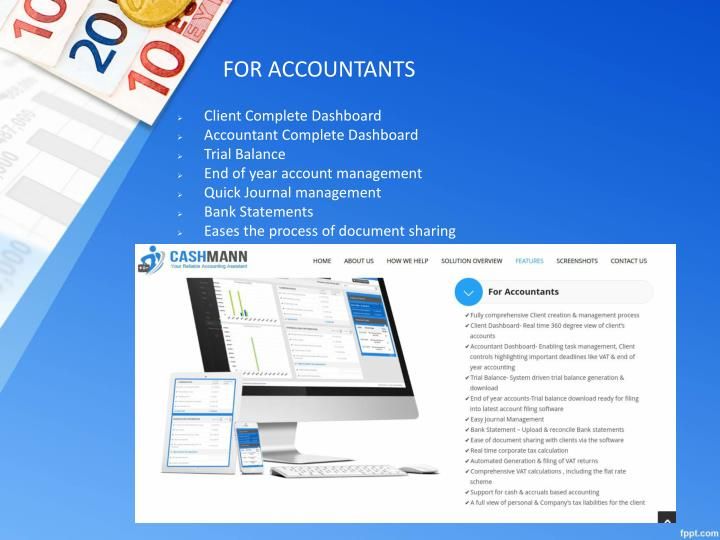 FOR ACCOUNTANTS