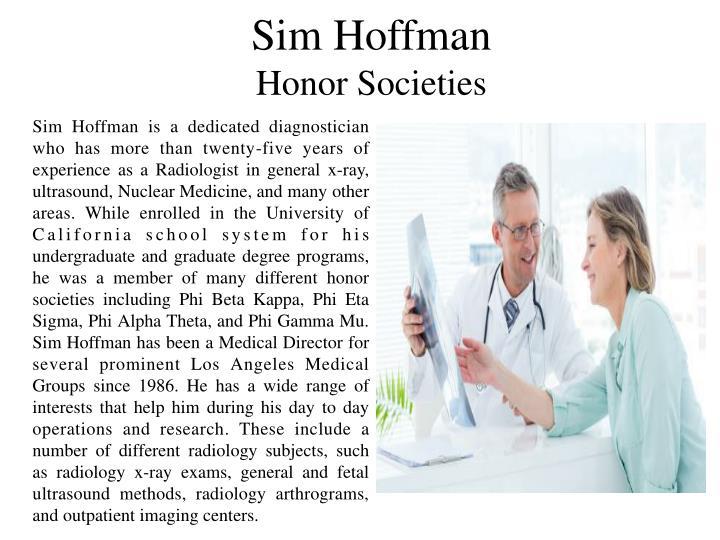 Sim Hoffman