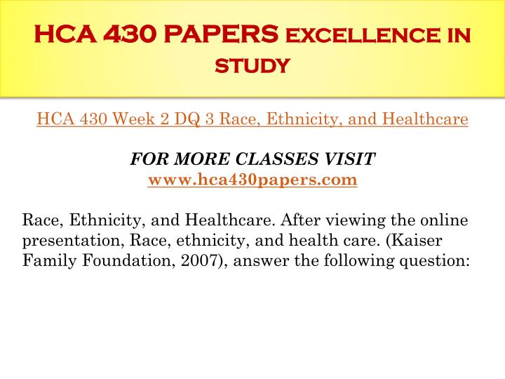 hca 210 interview a health care Hca 210 complete class  interview a health care professional post a 200- to 300-word response to the following: interview a health care professional, .