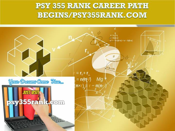 Psy 355 rank career path begins psy355rank com