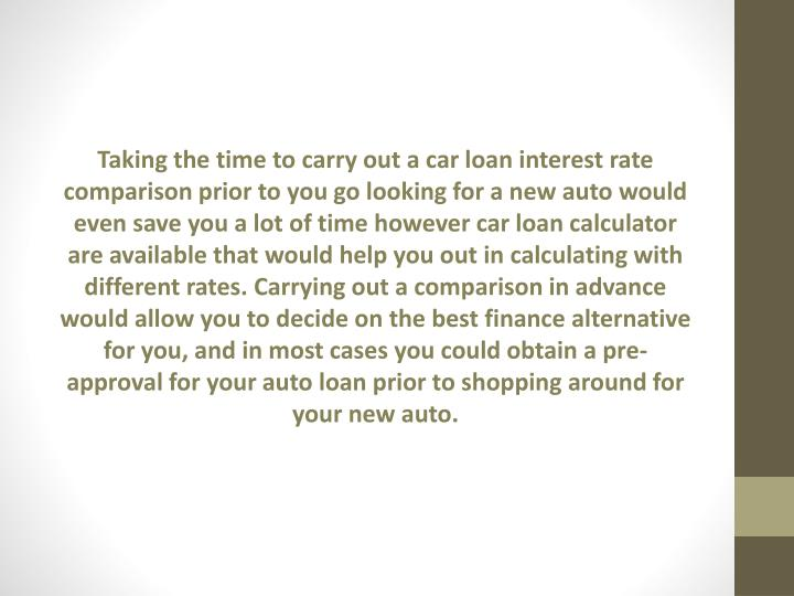 Car Loan Interest Rates Jamaica