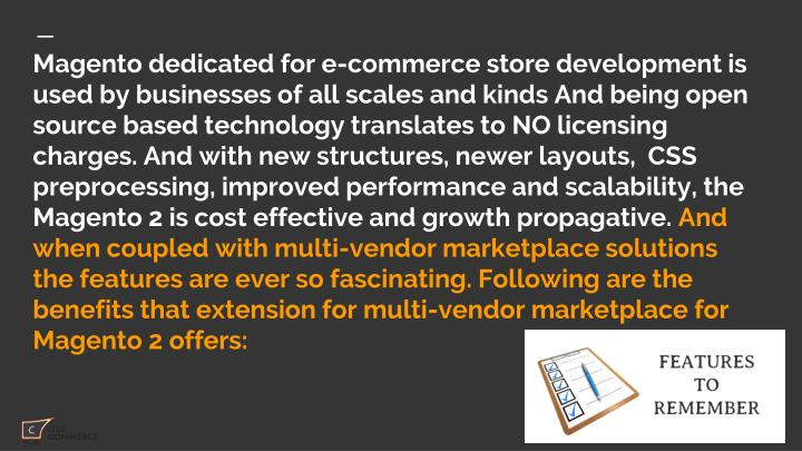 Magento dedicated for e-commerce store development is