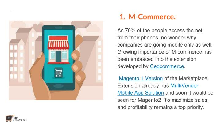 1. M-Commerce.