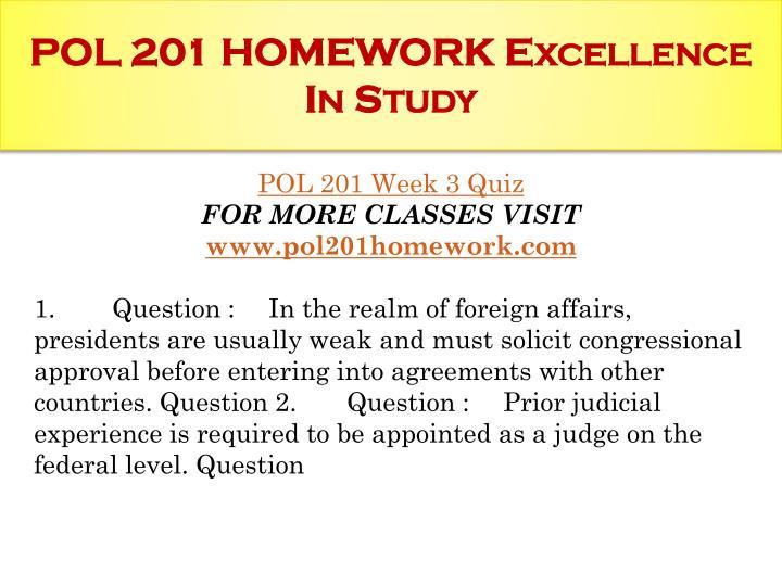 Pol 201 week 1 quiz