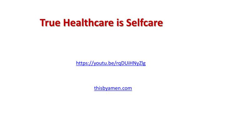 True Healthcare is