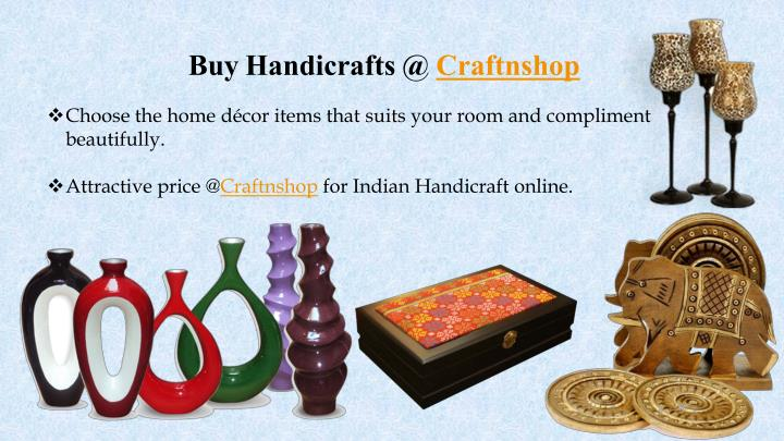 Buy Handicrafts @ Craftnshop
